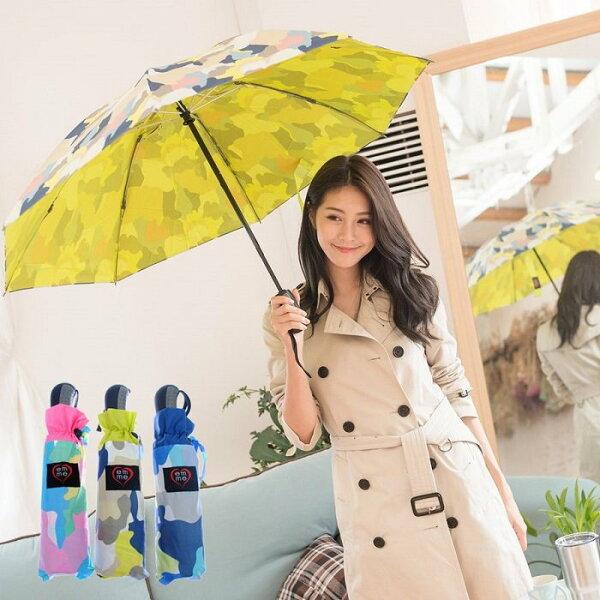 迷彩自動反向晴雨傘雙層防風防曬加厚傘面抗UV陽傘雨傘抗強風自動傘防風傘摺疊傘遮陽防曬