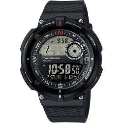 【東洋商行】免運 CASIO 卡西歐 SPORTS GEAR 戶外運動錶-黑 SGW-600H-1BDR 手錶 原廠公司貨 附保證卡 保固期一年