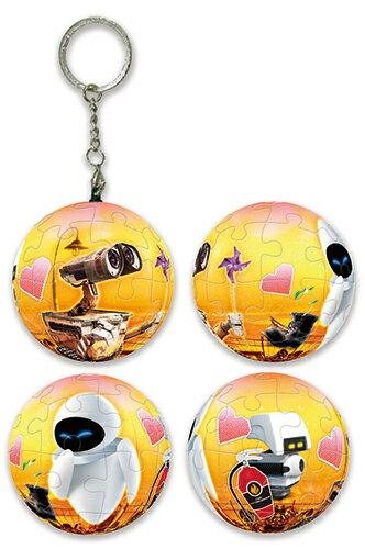 HPD0124061 WALL-E 瓦力(1)球形拼圖鑰匙圈24片