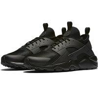 【NIKE】NIKE AIR HUARACHE RUN ULTRA 休閒鞋 運動鞋 男鞋 黑色 -819685002-動力城市-潮流男裝推薦