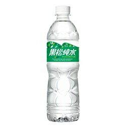 黑松純水580ml/24入 礦泉水 小水