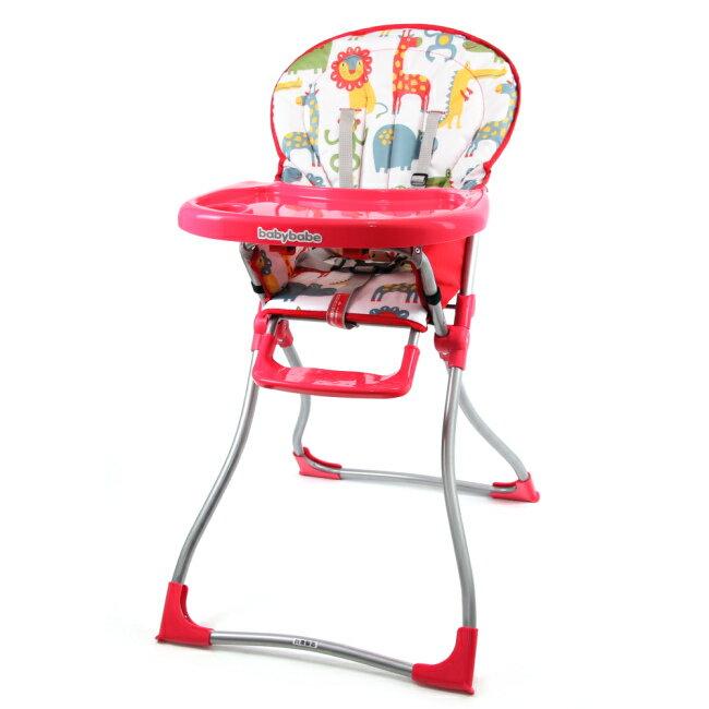 『121婦嬰用品館』同富 兒童高腳餐椅 - 紅 0