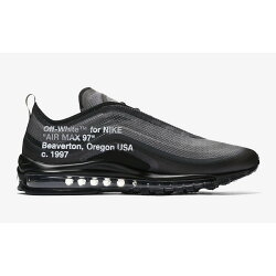 【日本海外代購】OW OFF White X NIKE Air Max 97 TT 黑色 聯名限量 AJ4585001