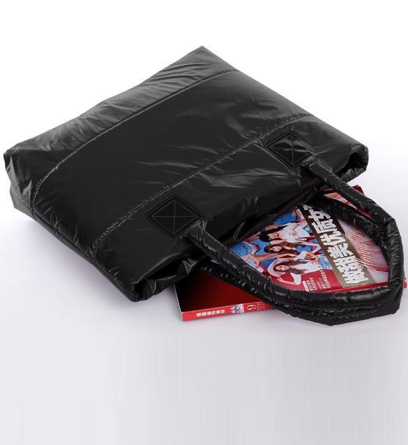 Waterproof Ladies Winter Cotton Totes Shoulder Handbag 5