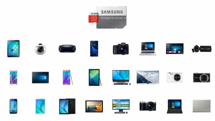 Samsung EVO+ 32GB microSDHC Class 10 32G EVO Plus microSD micro SD SDHC 95MB/s UHS-I U1 C10 MB-MC32GA with Original SD Adapter 2