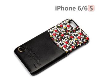 【日本 PGA-iJacket】UNISTYLE Disney 授權商品 iPhone 6/6s 專用手機殼 - 繽紛米奇