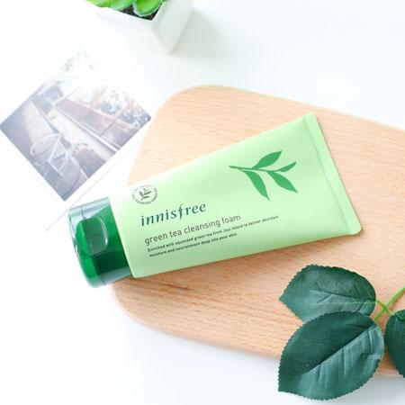 韓國innisfree綠茶保濕潔顏泡泡洗面乳150ml綠茶潔面乳洗顏乳洗面乳洗臉清潔悅詩風吟【B063259】