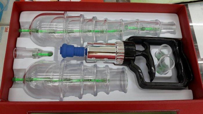 永大醫療~明宏家庭保健拔罐器組(豪華型)-拔罐槍+16杯 超耐用 每組特惠價550元