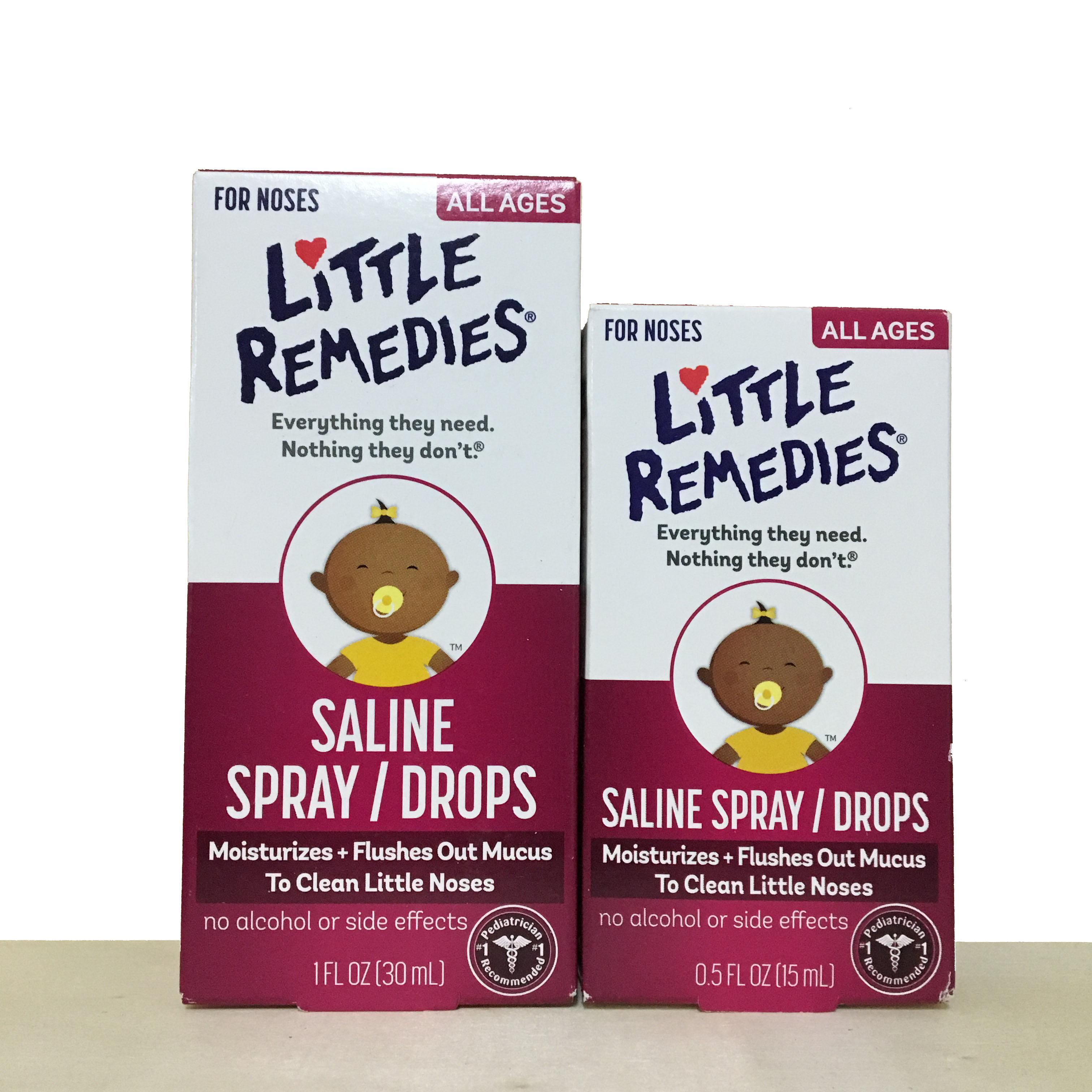 《★美國 Little Remedies》 嬰幼兒滴鼻劑 育嬰必備 美國代購 平行輸入 溫媽媽
