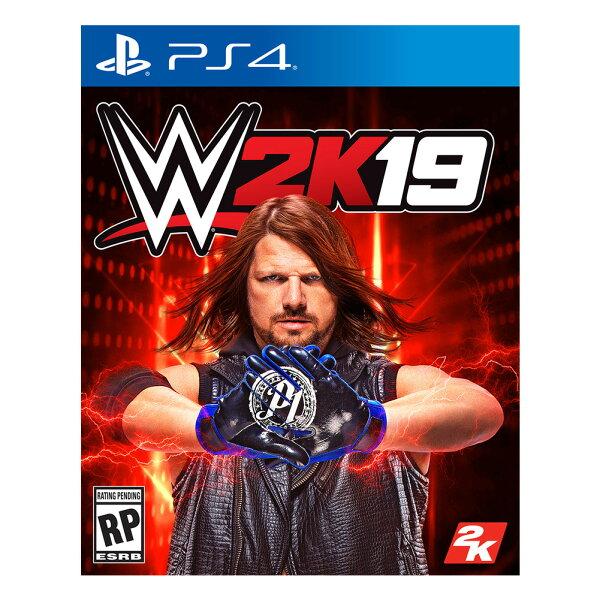 預購中10月8日發售英文版[輔導級]PS4WWE2K19
