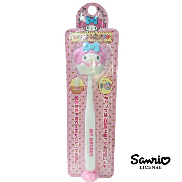~  ~美樂蒂 My Melody 吸盤 直立式 牙刷 牙刷 三麗鷗 Sanrio ~ 1
