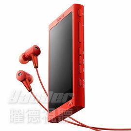 <br/><br/>  【曜德★送CKS-NWA30保護套】SONY NW-A36HN 紅 觸控螢幕 數\位隨身聽 32GB 繽紛五色 ★ 免運 ★<br/><br/>