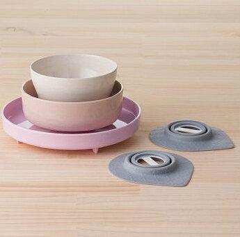 Miniware天然寶貝碗竹纖維兒童餐具五入組-俏皮巴黎人新品