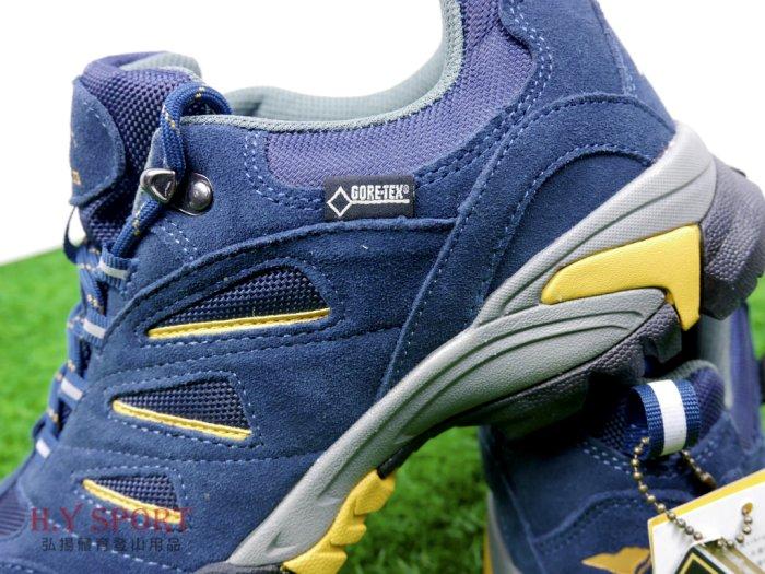 【H.Y SPORT 】玉山(YuShan)GORE-TEX 短筒防水健步鞋 / 輕量健步鞋 / 登山鞋 男女款 戶外鞋 D18(非環保材質鞋底) 5