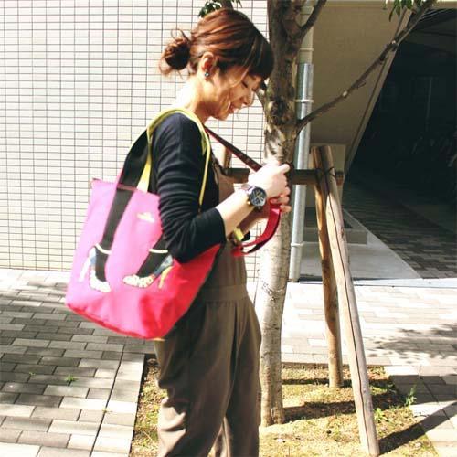 日本流行美腿包~mis zapatos~2016 小花彩繪高跟鞋款2WAY兩用包
