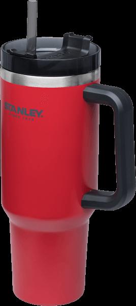 ├登山樂┤ 美國 Stanley 冒險系列 吸管隨手杯 1.1L # 10-02664 聖誕紅 保冰兩天