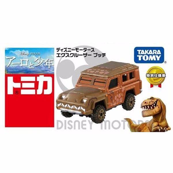 日本TOMICA 多美小汽車 迪士尼恐龍當家 暴龍吉普車【JE精品美妝】