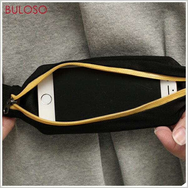 《不囉唆》手機運動防水腰包防盜挎包隱形包旅行收納貼身腰帶彈性雙包【TMCPW14】