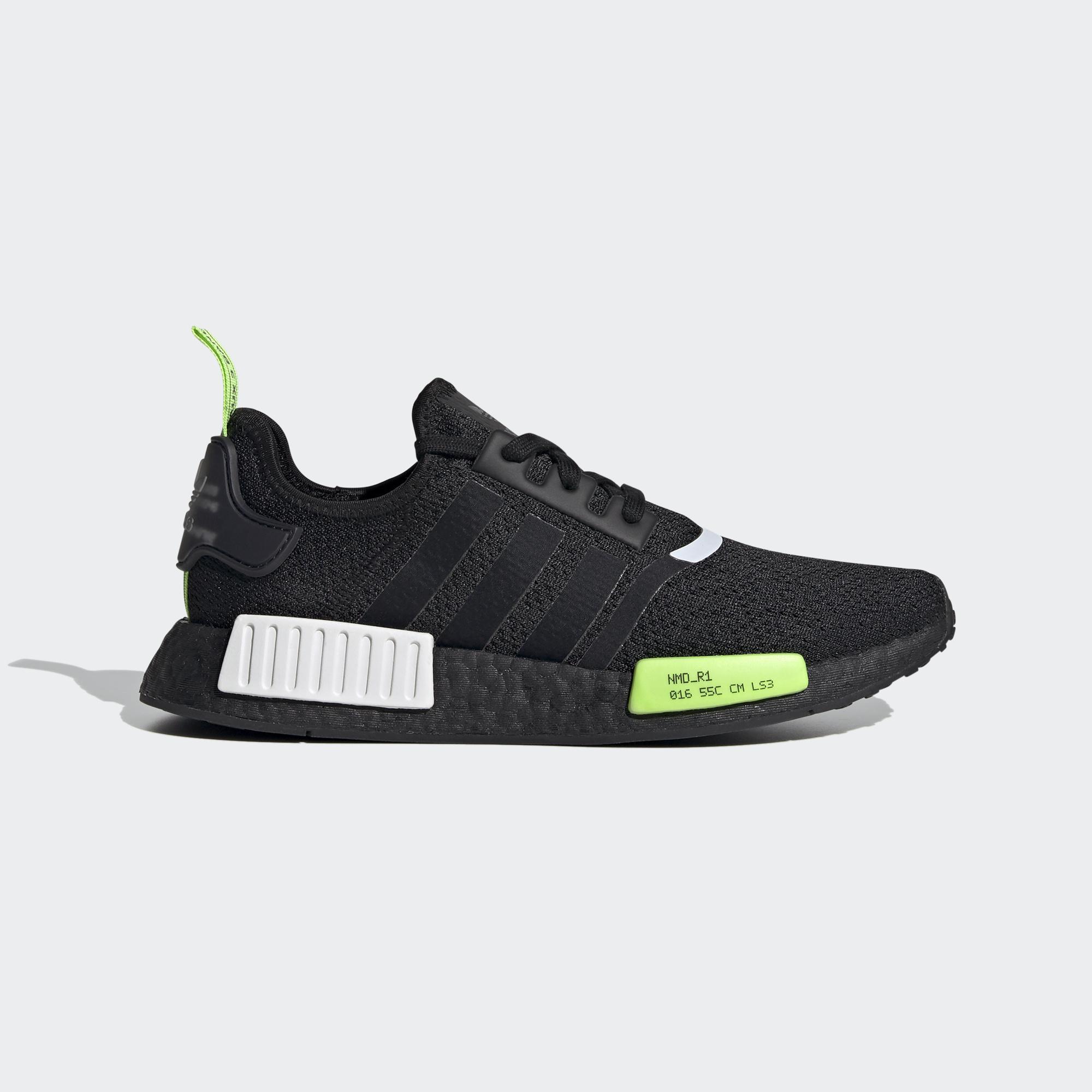 【滿額↘再折$250】【ADIDAS】NMD_R1 Core Black 黑 螢光綠 休閒鞋 男款 EF4268 (Palace store)