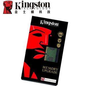 金士頓Kingston 4GB DDR3 1600 桌上型記憶體 KVR16LN11/4G (低電壓1.35V) ★★★全新原廠公司貨含稅附發票★★★