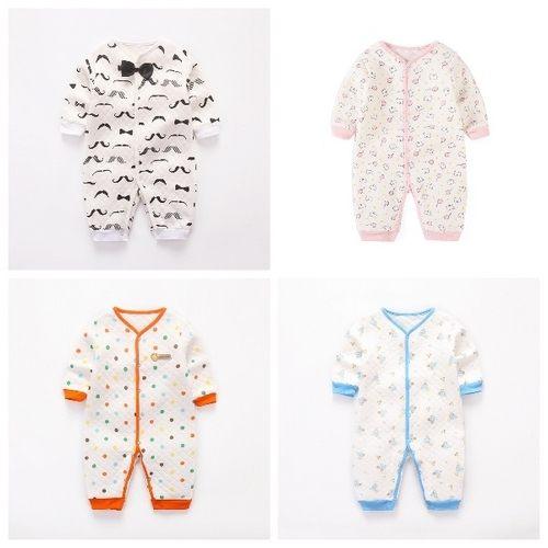長袖兔裝空氣棉哈衣寶寶連身衣兔裝童裝XIS2956好娃娃