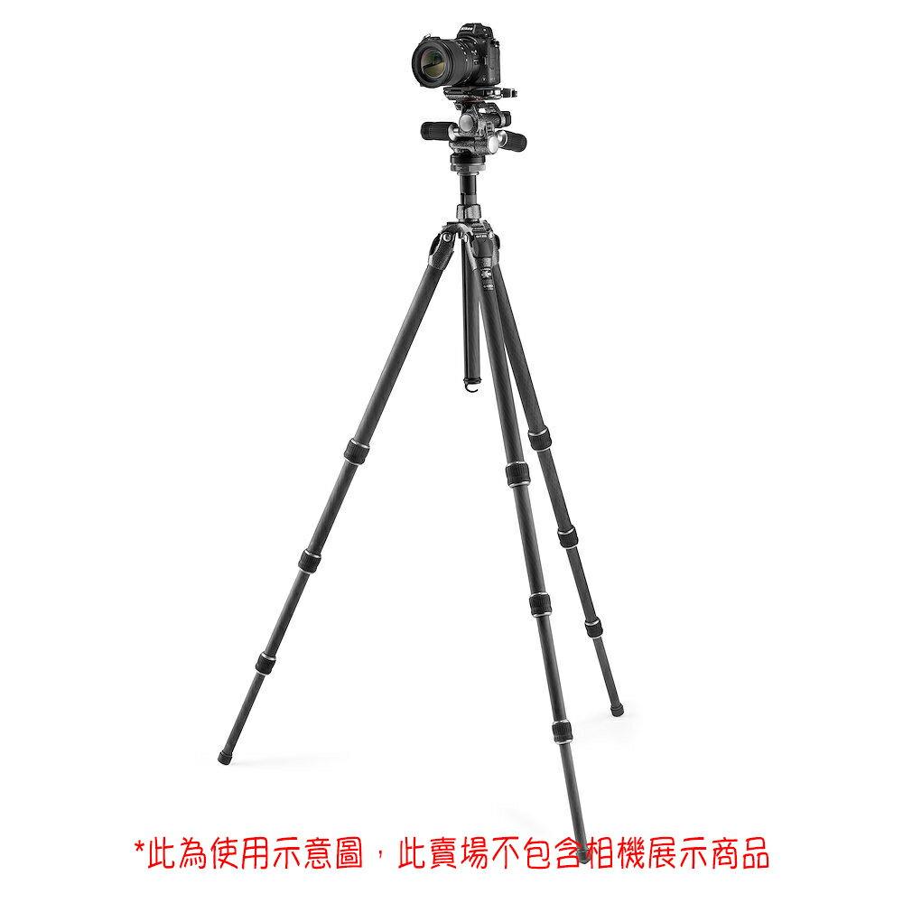 ◎相機專家◎ 送拭鏡紙 Gitzo GK2542-F3W 碳纖維三腳架 三維液壓雲台 登山者系列 2號 4節 承重13kg 公司貨