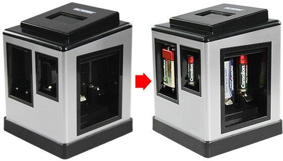 USB Battery Charging + Testing Station 3