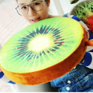 美麗大街【105032003B】KUSO搞怪造型水果 木頭 輪胎 蛋黃...坐墊抱枕