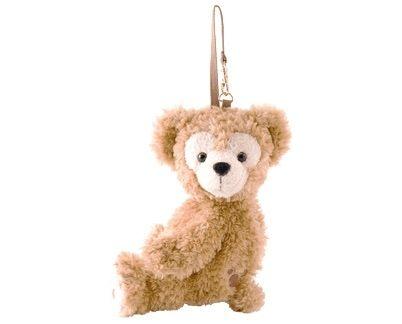日本直送 東京迪士尼限定Duffy & Shelliemay側身零錢吊飾 掛包