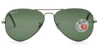 Outlet 美國100% 正品代購 經典 Ray Ban 雷朋 復古 墨鏡 太陽眼鏡 RB3025 金邊綠鏡