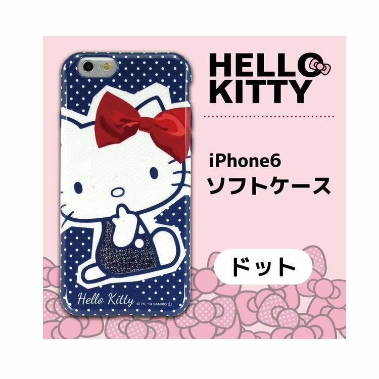 大田倉 日本進口正版iPhone6 三麗鷗 凱蒂貓 Hello Kitty 手機殼 硬殼 766957