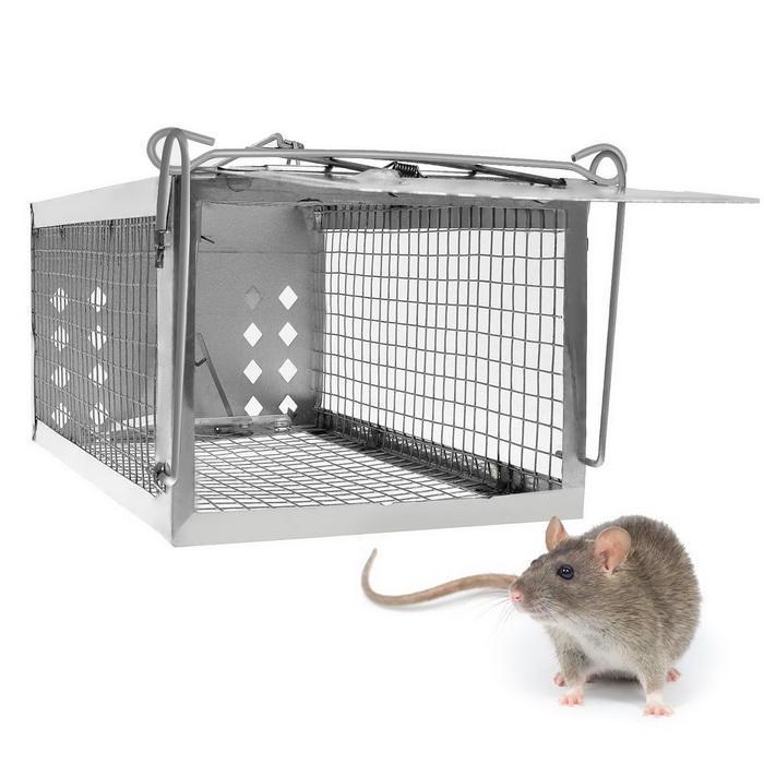 One Door Sensitive Pedal Mousetrap Cage 0