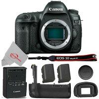 Canon EOS 5D 30.4mp DSLR Camera Body w/Lp-e6n Battery, Grip