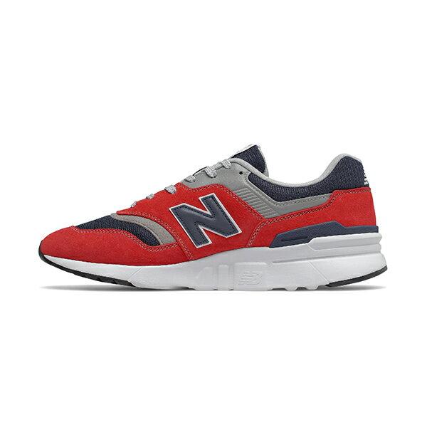 【NEW BALANCE】NB 997H 休閒鞋 麂皮 復古鞋 經典復刻 紅 男鞋 -CM997HBJD