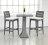 DORIC 多利克 方型吧檯桌 戶外家具【7OCEANS七海休閒傢俱】EXPRESSO 黑褐色 3