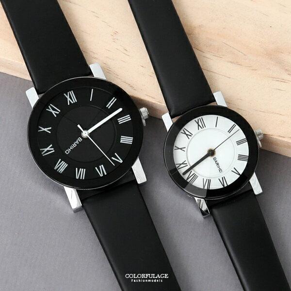 手錶羅馬數字皮革腕錶【NE2021】單支售價