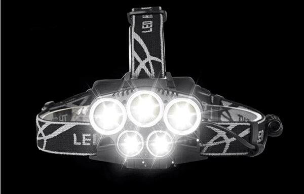 《沛大旗艦店》$3605LED戶外強光頭燈釣魚燈頭燈帽燈照明燈具手電筒夜間照明戶外露營【S63】