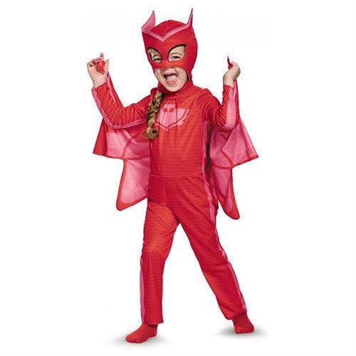 PJ Masks Owlette Classic Costume for Toddler 0