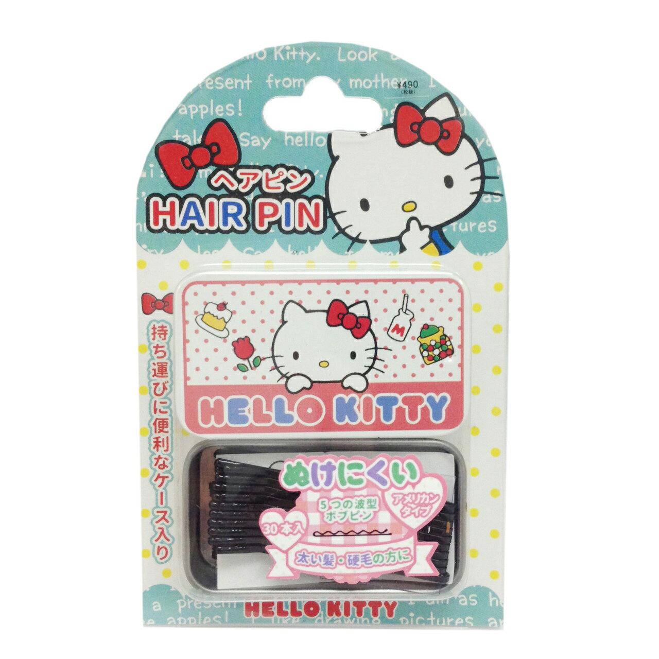 【真愛日本】17022700024抽拉小物髮夾收納盒-KT點心  三麗鷗 Hello Kitty 凱蒂貓 髮飾 飾品 正品 限量