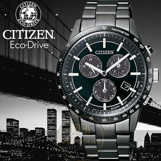 CITIZEN日本星辰Eco-Driver萬年曆計時40周年限定限量腕錶BL5495-56L公司貨/光動能
