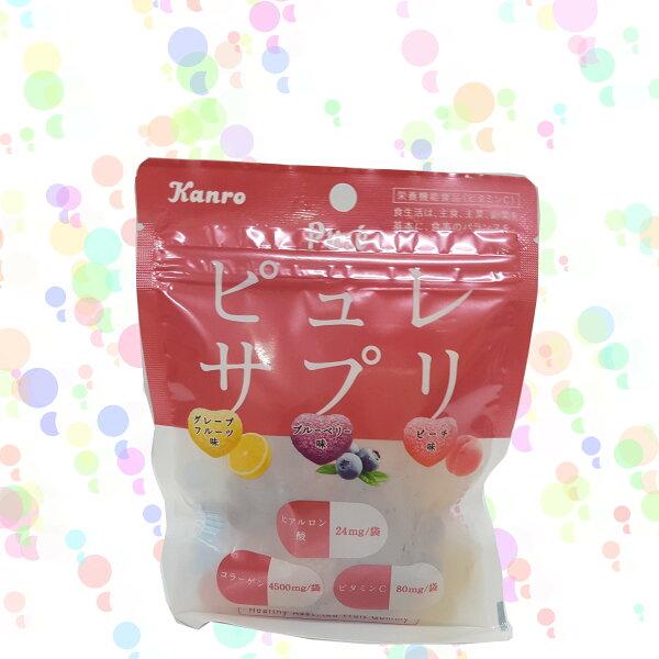 甘樂Pure綜合水果心型軟糖55.6g包