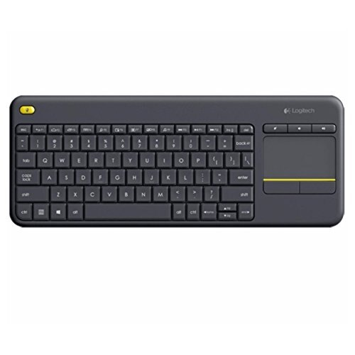 Logitech K400 920-007119 Plus Wireless Touch Keyboard with Keyboard for TV Connected Computer 0
