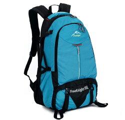 【FREEKNIGHT】55L 大容量休閒登山背包/運動後背包(藍) FK0219BU