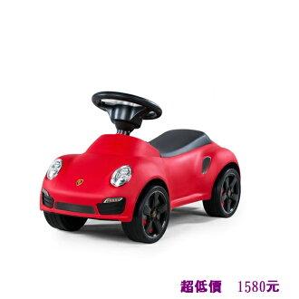 *美馨兒*Porsche 保時捷 911 turbo S滑步車/助步車/學步車 (紅色) 1580元