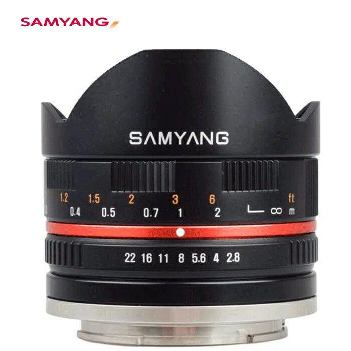 馬克攝影器材專賣店 Samyang 鏡頭專賣店: 8mm F2.8魚眼鏡頭II(For FUJI X-pro1黑色) 義文公司貨 ( 二個月保固 )
