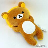 拉拉熊玩偶/娃娃/抱枕推薦到【UNIPRO】拉拉熊 Rilakkuma 躺姿拉拉熊 33cm 絨毛娃娃 玩偶 禮物 San-X正版授權就在UNIPRO優鋪推薦拉拉熊玩偶/娃娃/抱枕