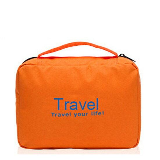 ♚MYCOLOR♚大容量旅行防水洗漱包旅遊手提折疊便攜式化妝包可懸掛式韓版旅行出差【J21】
