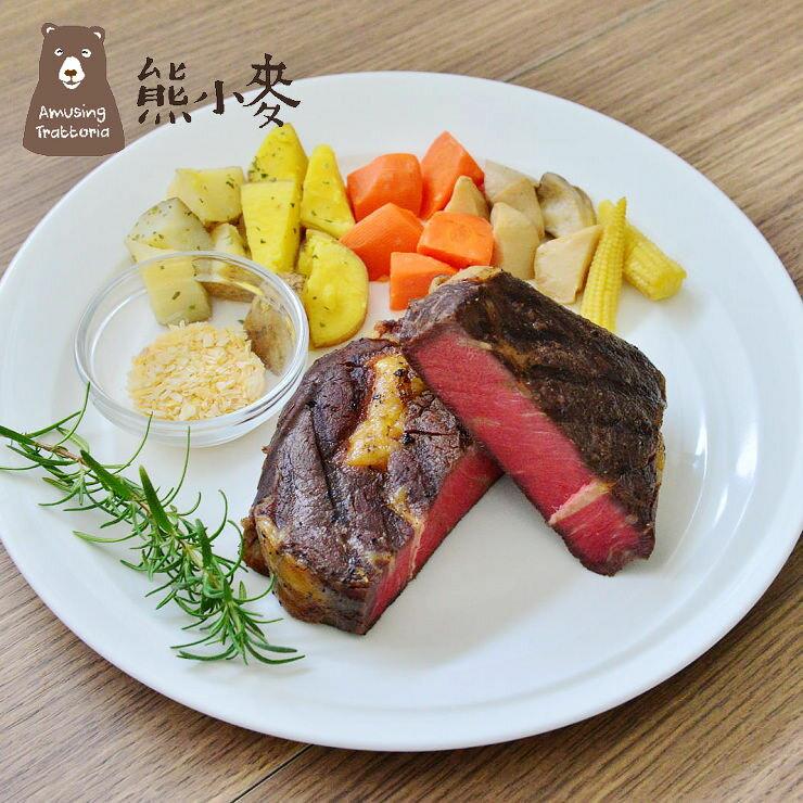 【熊小麥】舒肥厚切12盎司超滿足肋眼牛排*新鮮有機香料多重味覺饗宴* 1