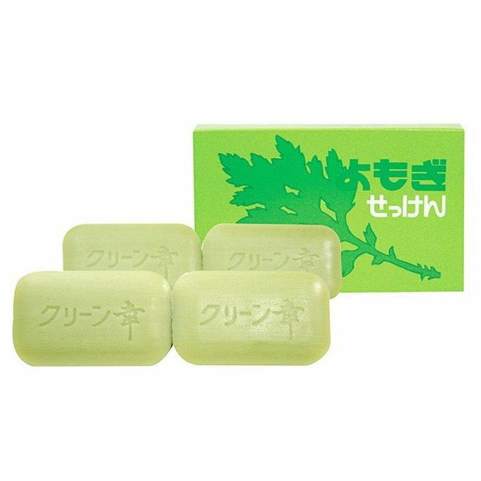 日本製 熊本 地の塩社 艾草保濕滋潤皂(98gX4入)*夏日微風* 1