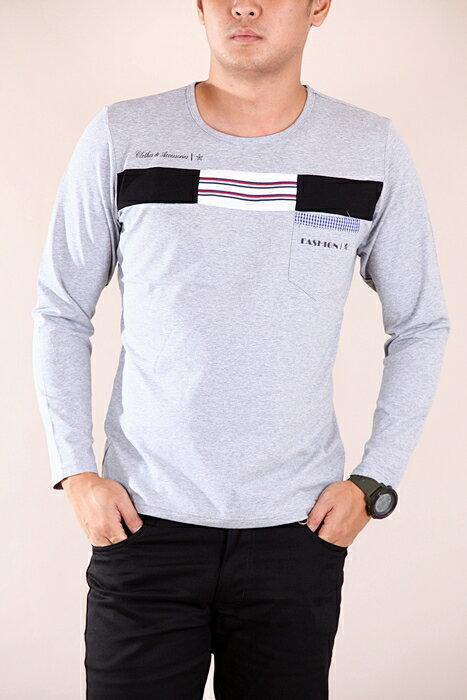 CS衣舖 彈力伸縮 高質感 長袖T恤 3310 4
